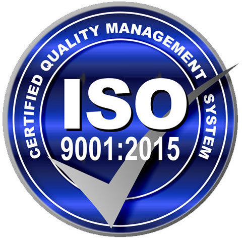 ISO Certification: 9001